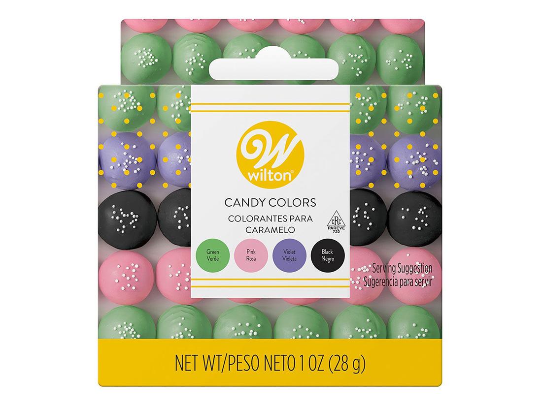 Wilton ガーデンキャンディカラーセット(チョコレート色素)