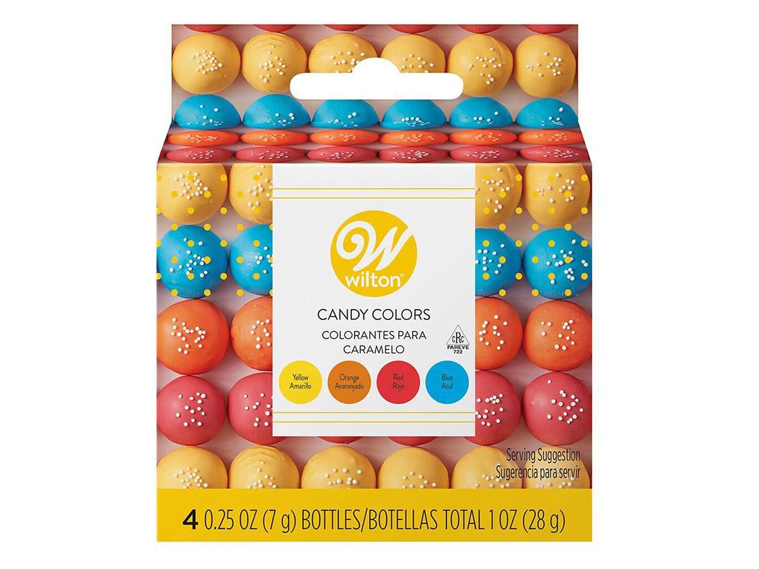 Wilton プライマリーキャンディーカラーセット(チョコレート色素)