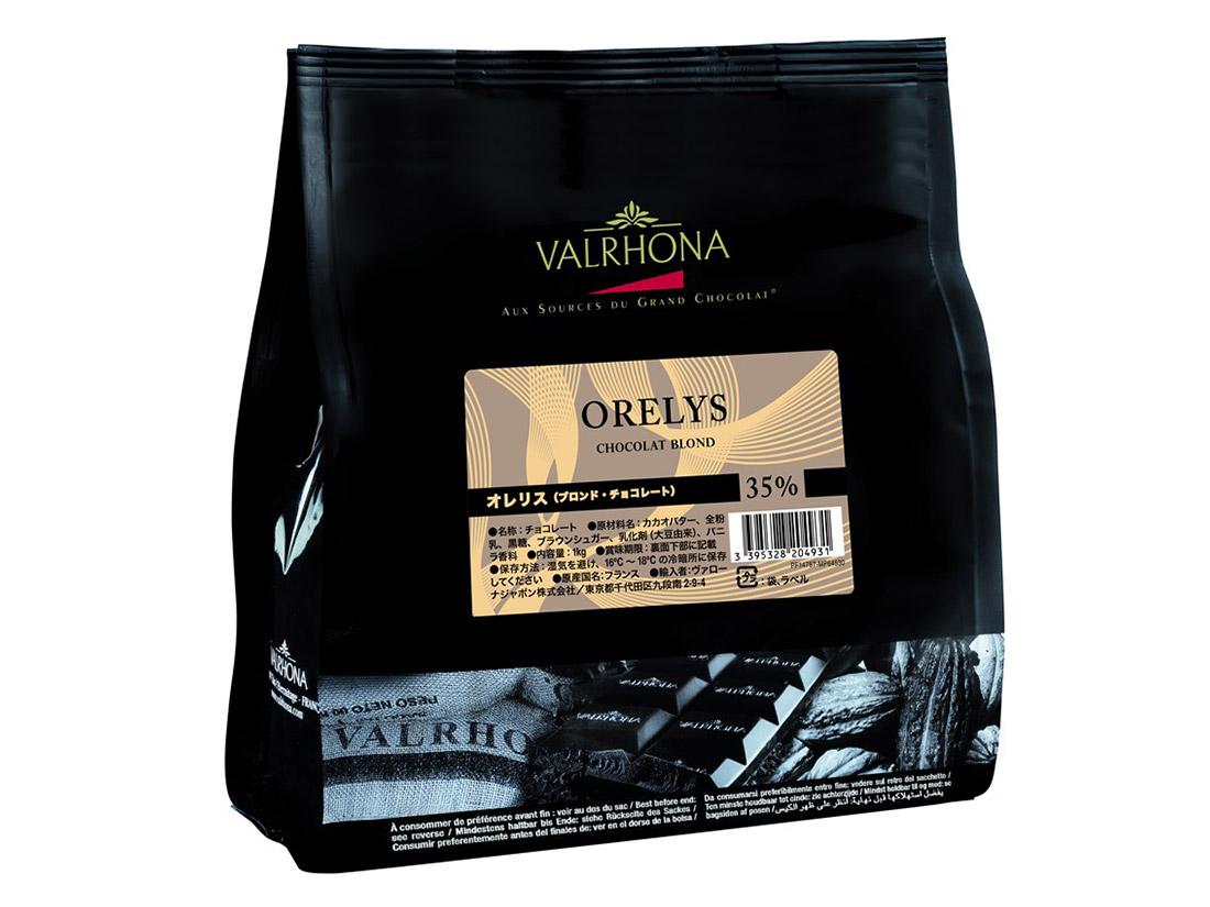 冷蔵便 ヴァローナ オレリス(ブロンドチョコレート) 1kg