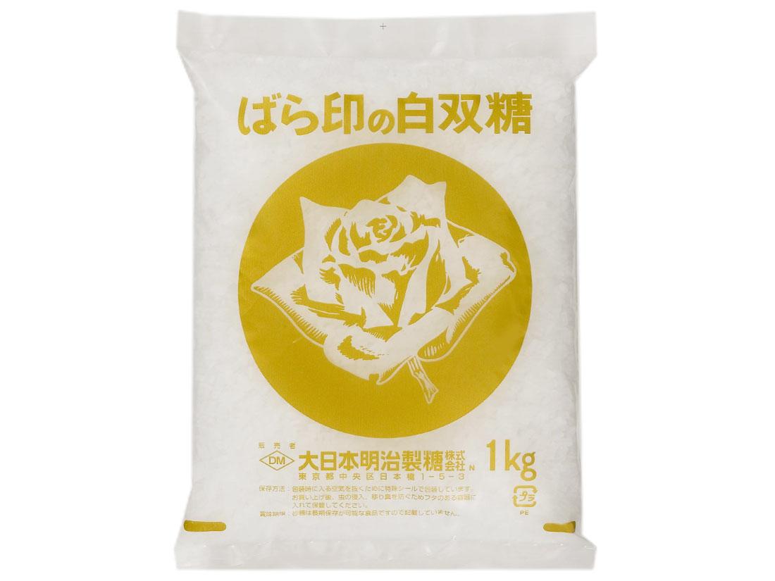 バラ印 白双糖(しろざらとう) 1kg