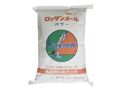 鳥越製粉 ライ麦粉 パワー 5kg