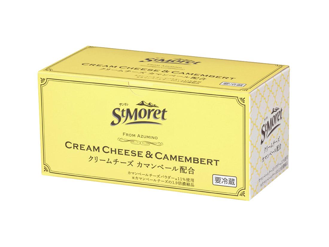 冷蔵 サンモレ クリームチーズ(カマンベールチーズ配合)1kg
