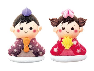 メレンゲ人形 セット雛(MS-9N)