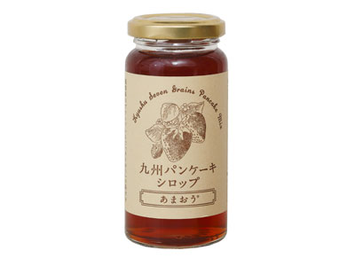 九州パンケーキシロップ あまおう 170g