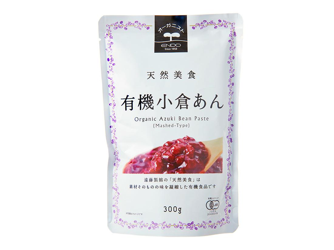 遠藤製餡 天然美食小倉餡 300g