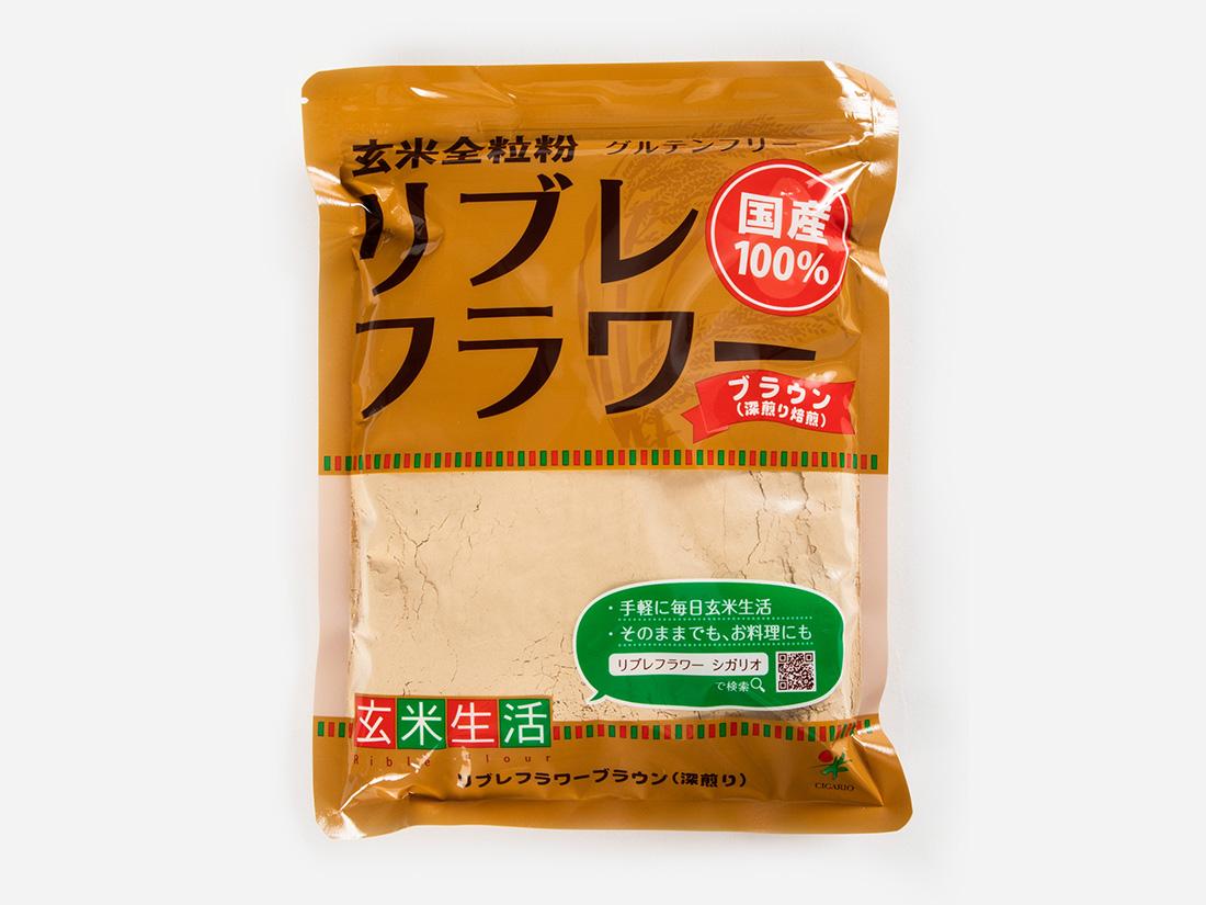 シガリオ リブレフラワー ブラウン 深炒り 500g