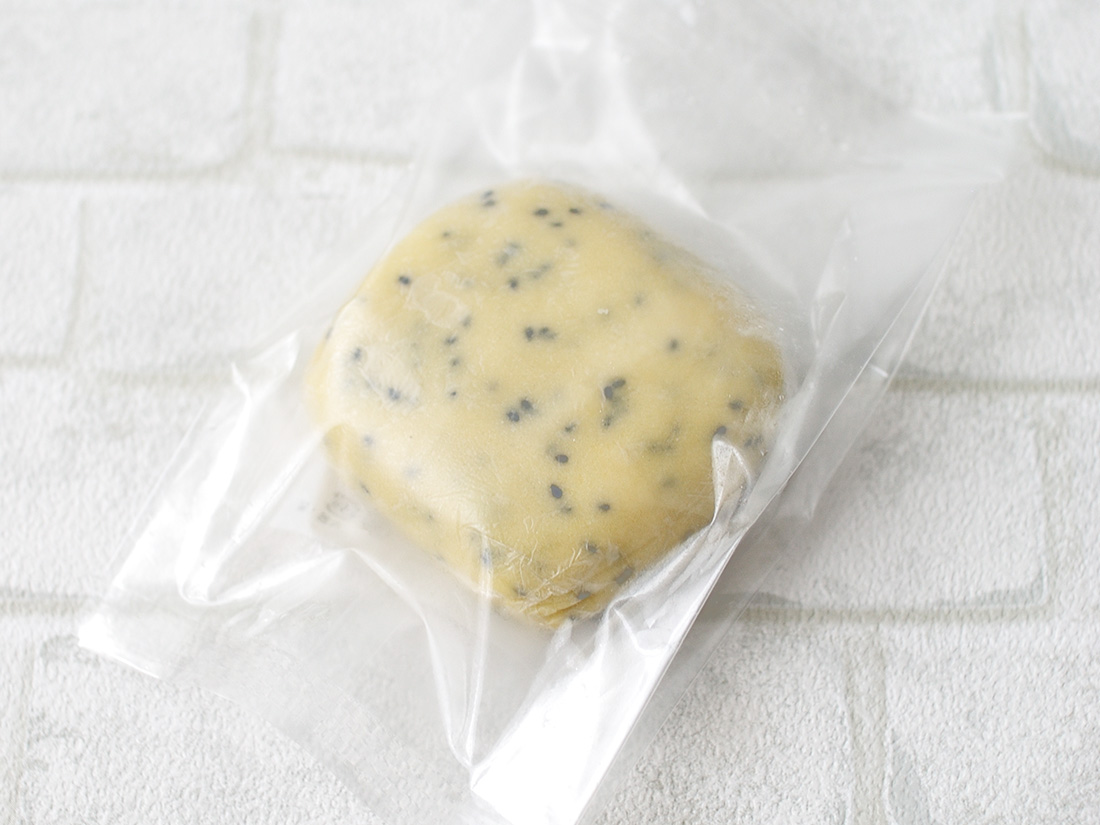 冷凍 クッキー生地 (黒ゴマ) 200g