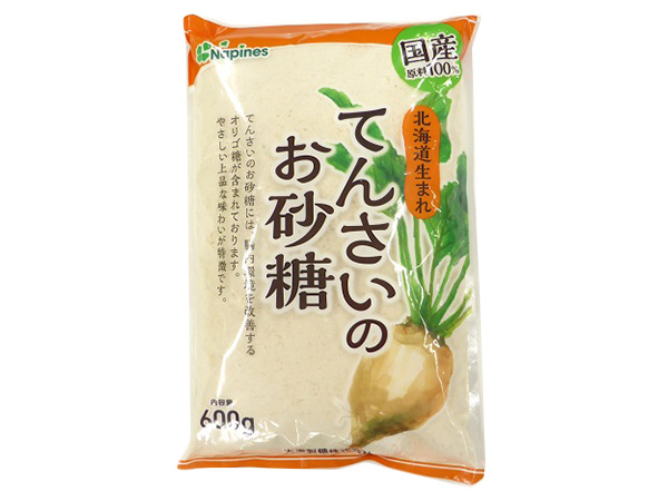 北海道生まれ てんさいのお砂糖 600g