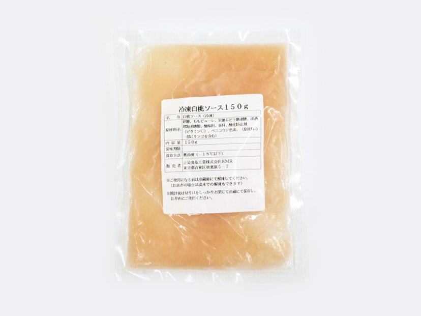 冷凍 正栄食品 白桃ソース 150g