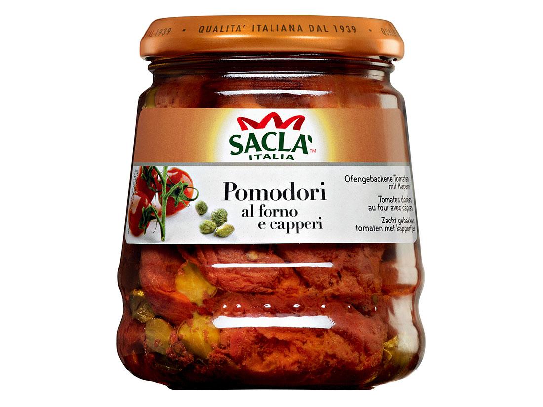 サクラ プラムトマトのアル・フォルノ ケッパー 285g