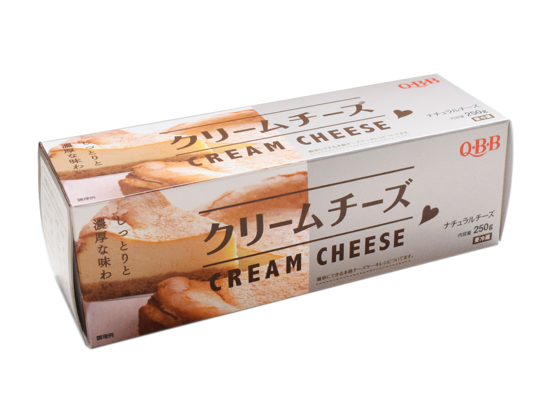 冷蔵 Q・B・Bクリームチーズ 250g