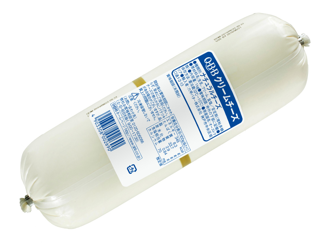 冷蔵 Q・B・Bクリームチーズ 1kg