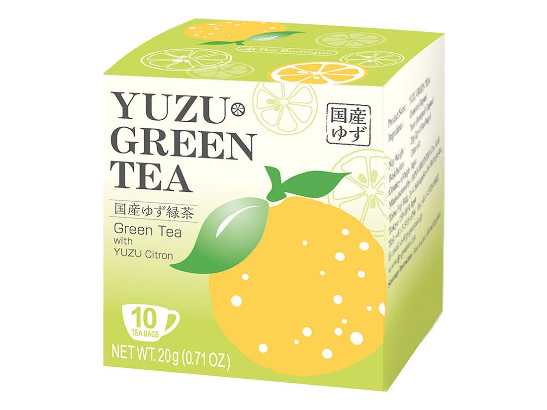 ゆず緑茶(10ティーバッグ入)