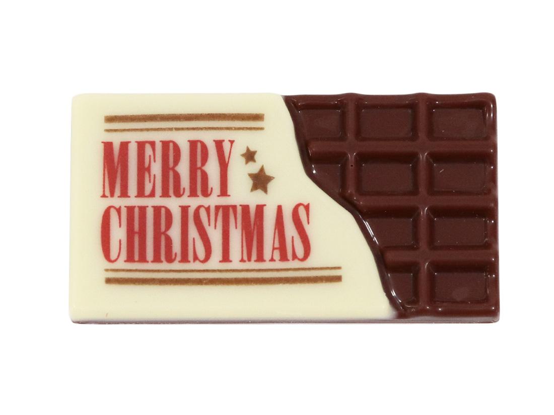 チョコプレート 板チョコクリスマス