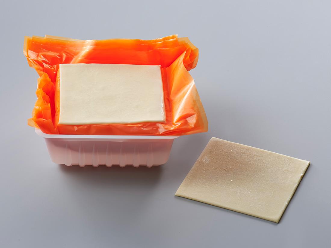 冷凍 リボン食品 冷凍パイシート PL 100角  (12枚入)