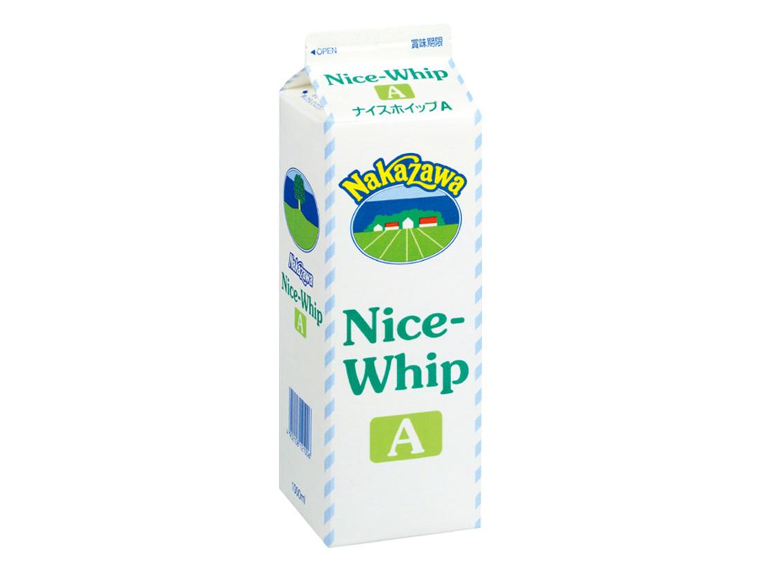 冷蔵 中沢乳業 ナイスホイップ A 1000ml