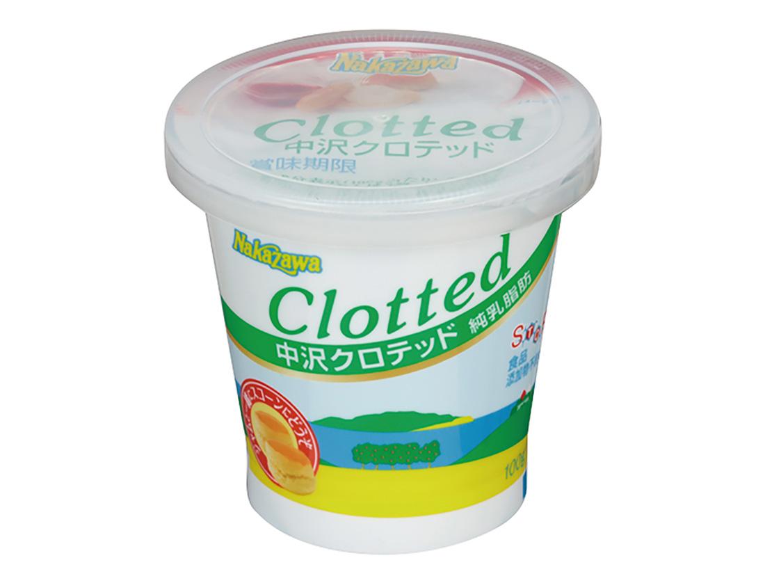 冷蔵 中沢乳業 中沢クロテッド 100g