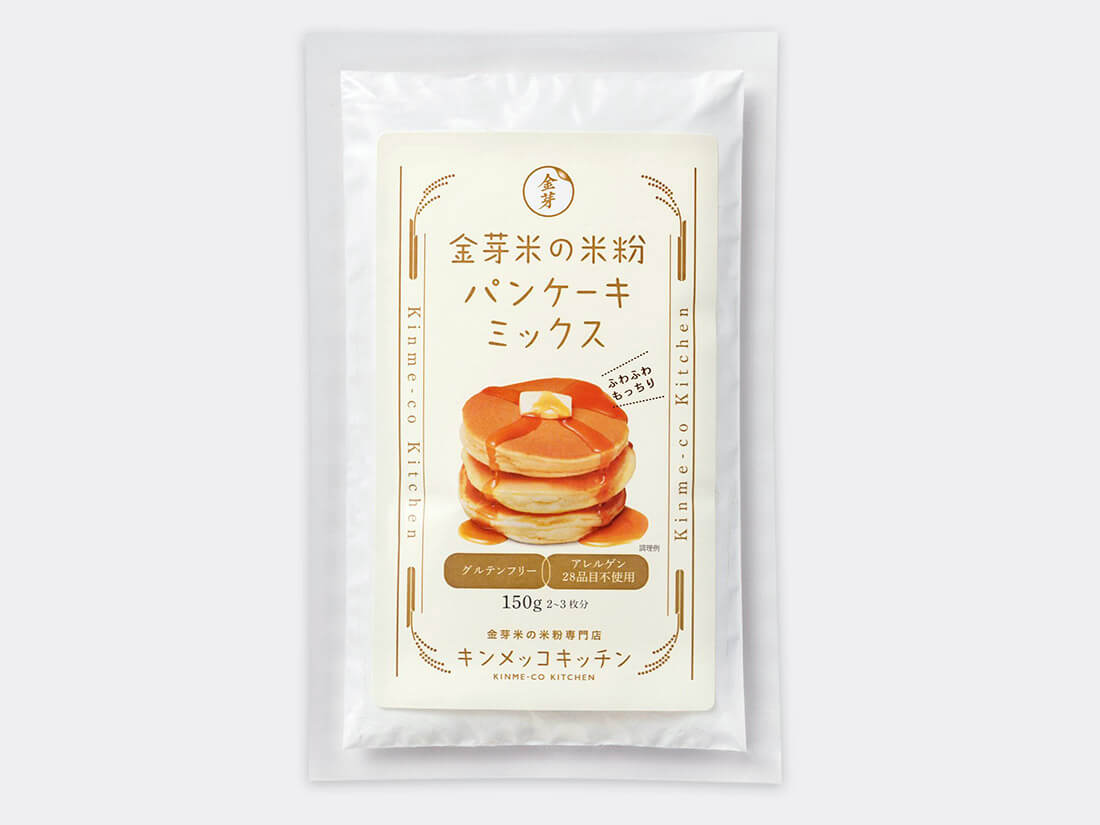 パン ケーキ 米粉