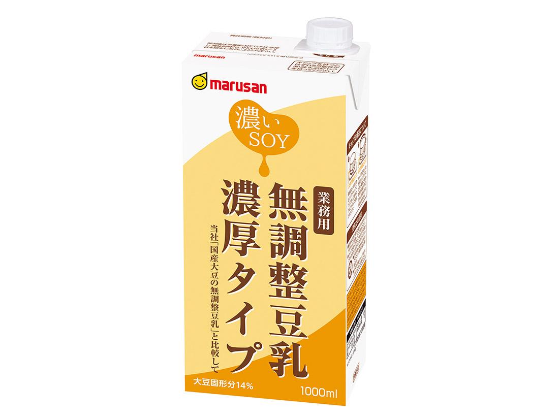 マルサン 無調整豆乳 濃厚タイプ 1L