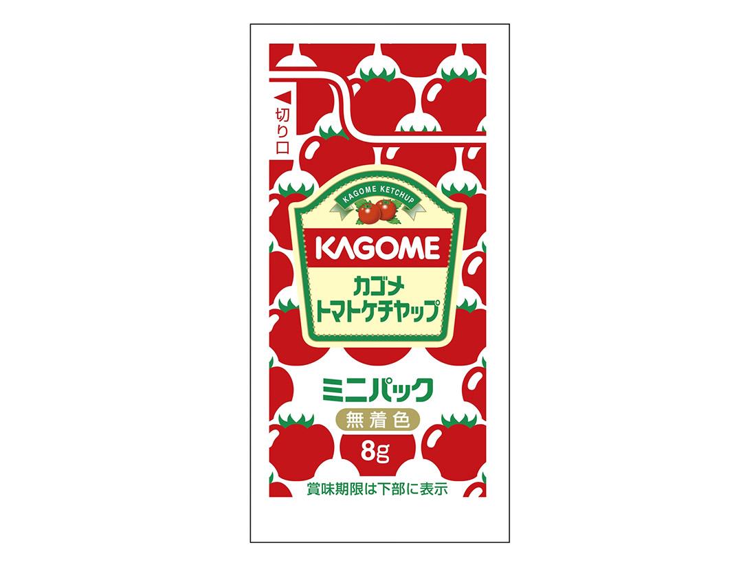 カゴメ トマトケチャップミニ 8g×40袋入