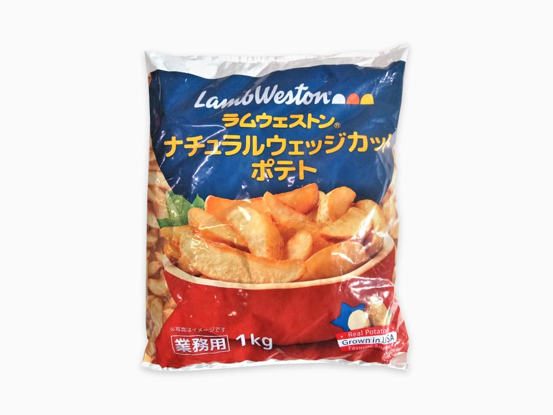 冷凍 ナチュラルカットポテト(1kg)
