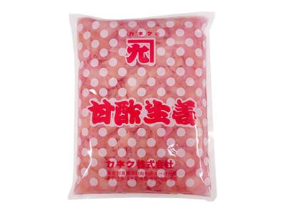 カネク 赤・甘酢生姜 ピンク 1kg
