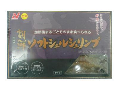 冷凍 ニチレイF ソフトシェルシュリンプ(30尾入)