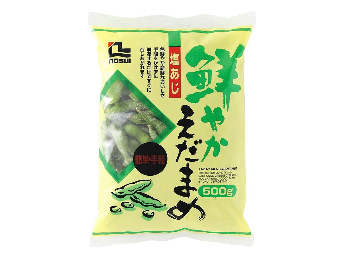 冷凍 ノースイ 鮮やか塩味枝豆  500g