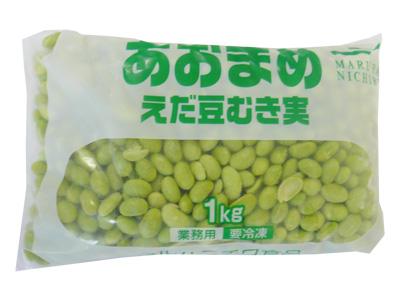 冷凍 マルハニチロ 青豆(枝豆むき身)1kg