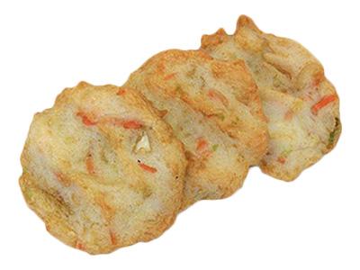冷凍 山幸蒲鉾 冷凍 野菜天(10枚入)