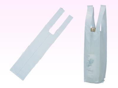 ワイン用レジ袋 白(1本用)