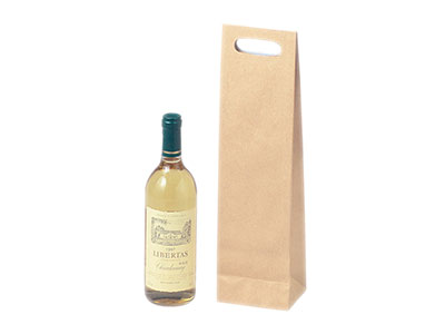手穴付ワイン手提袋 K-1020