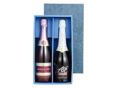シャンパン2本入