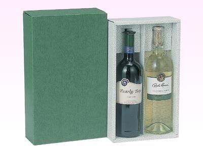ワインかぶせ箱(2本用)