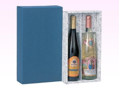 ワインかぶせ箱ロング(2本用)