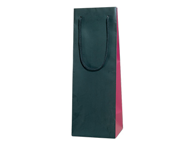 ブライトバッグ ワインLL KWI(黒×ワイン)