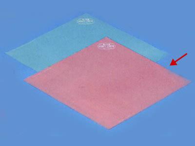 ハニークレープ包装紙 (ピンク)