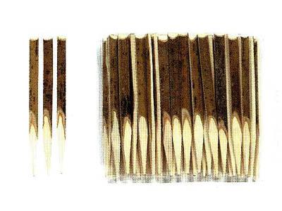 黒文字9cm(100本入)