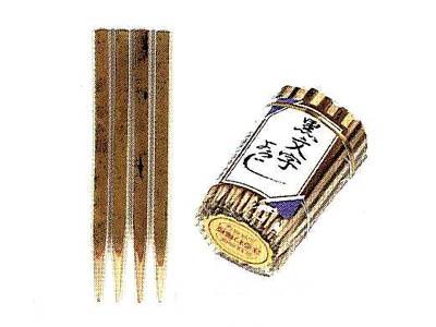黒文字6cm(140本入)