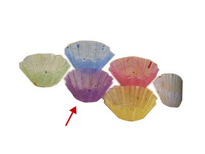 グルメカップ金箔紙 紫 径60(500枚入り)