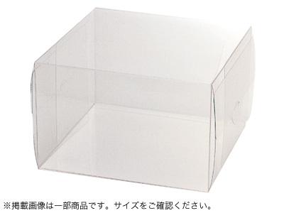 透明ケース角デコ4寸用(トレーなし)
