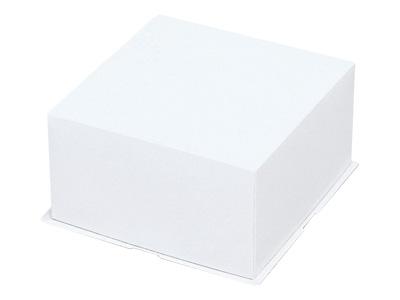 デコ箱10号 新ホワイト フタ身式ボックス