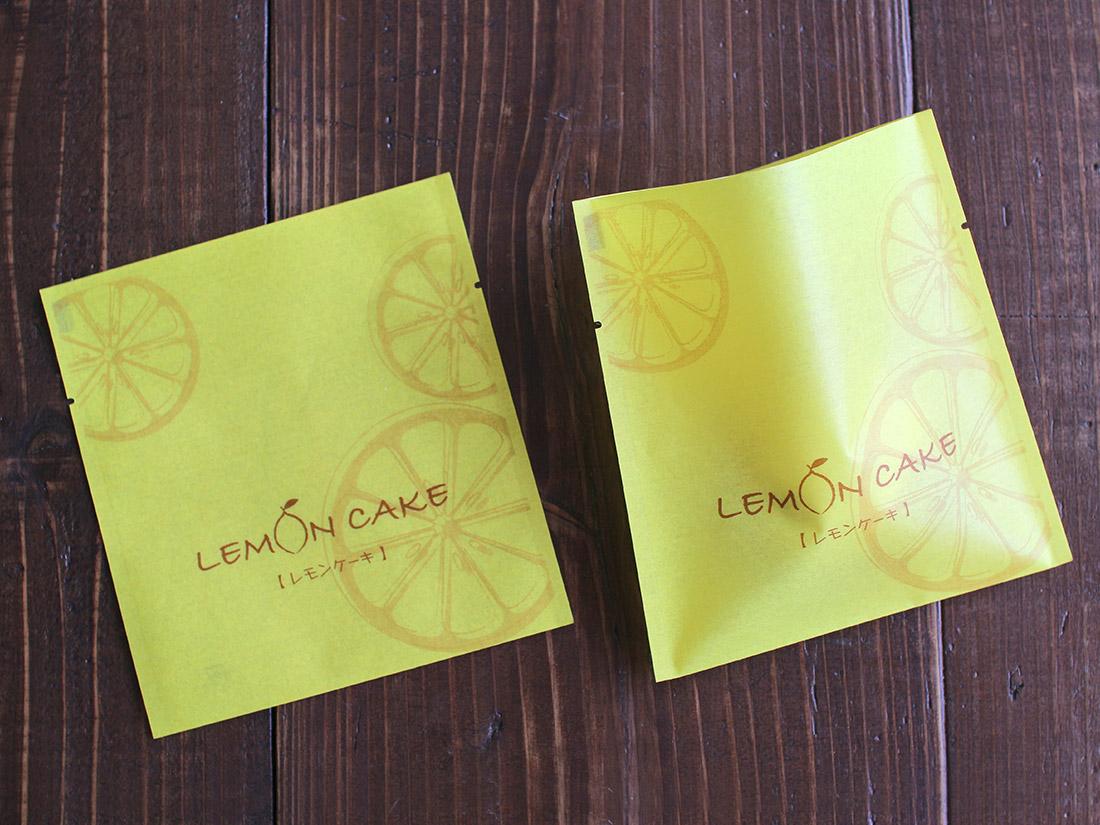規格袋 レモンケーキ 二方タイプ 130×140