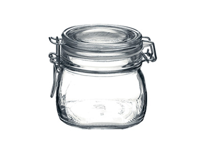 ガラス製 フィドジャー 0.5L