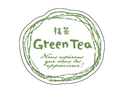 シール ナチュラルフレーバー 抹茶
