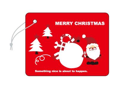 クリスマスタグ SS-404B