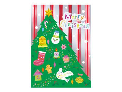 クリスマスカード S300-49