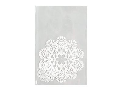 OPPパック レースペーパー ホワイト 150×230
