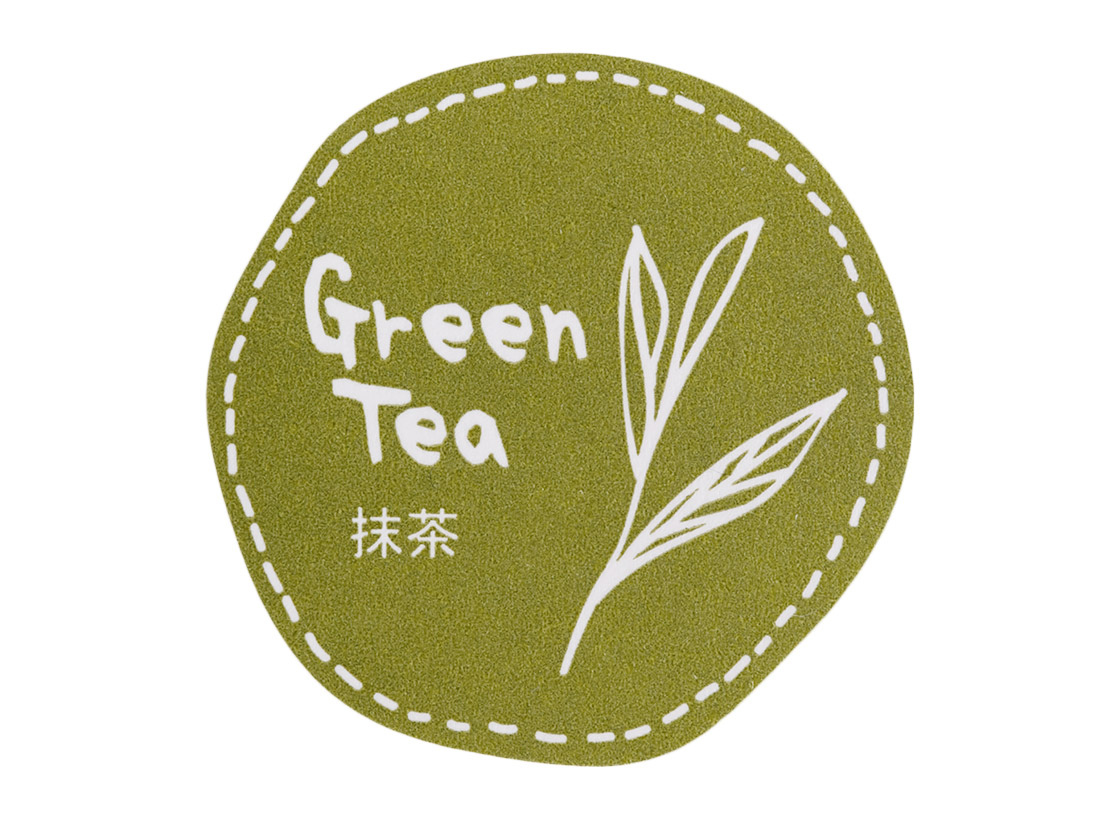テイスティシール 抹茶