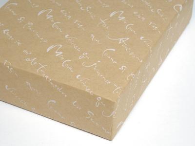 プロヴァンス 包装紙 クラフト